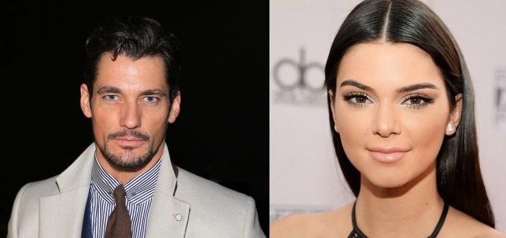 9a6ad9ec2 Segundo a pesquisa, David Gandy (à esquerda) e Kendall Jenner (à direita