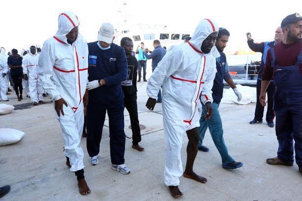 Dozens-Of-Migrants-Drown-Off-Libyan-Coast