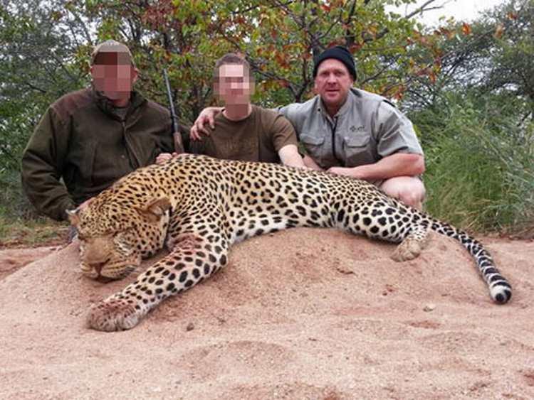 """Caçador mata leões, elefantes, leopardos e rinocerontes na África para """"conservar e evitar a extinção"""" e causa revolta"""