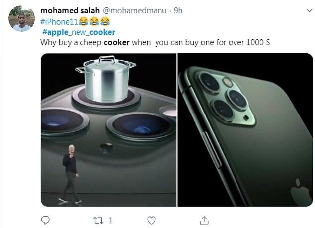 Iphone 11 é ridicularizado por sua câmera