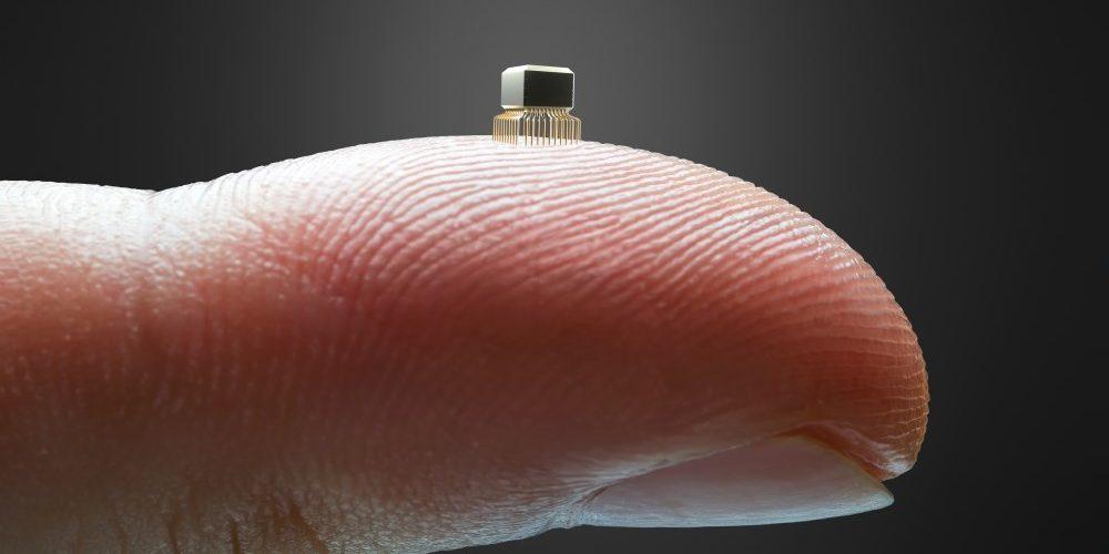O menor chip do mundo